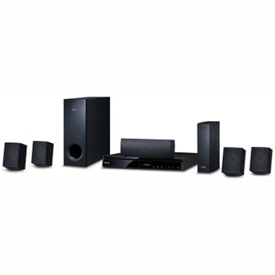 1000W 3D WiFi Smart Blu-ray Home Theater System Wireless Rear Speakers OPEN BOX