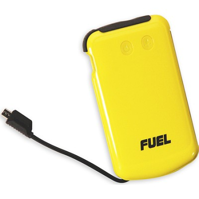 FUEL Active Mobile Rechargeable Battery 6000 mAh with 3-stage LED flashlight