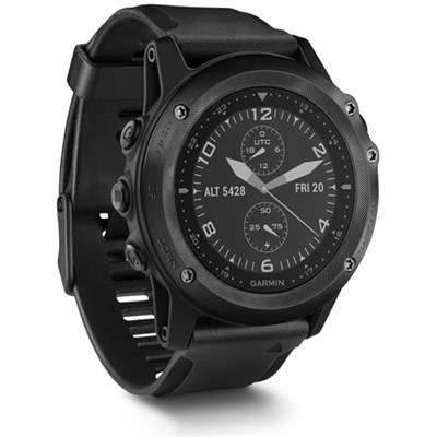 Tactix Bravo GPS Watch - Black w/ Silicone Band (010-01338-0C)