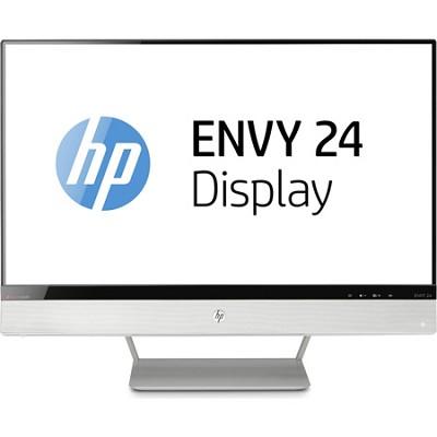 HP ENVY 24 23.8` Diagonal IPS Monitor with Beats Audio - OPEN BOX