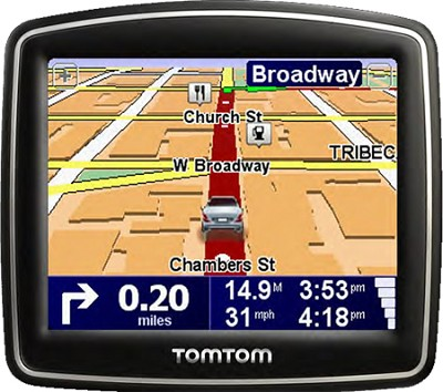 ONE 140 Car Navigator GPS w/ 3.5 inch Touchscreen