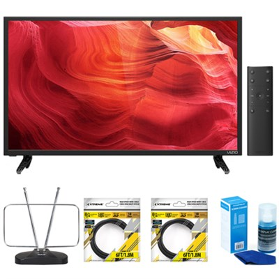 E55-D0 55-Inch 120Hz SmartCast E-Series LED HDTV with Accessories Bundle