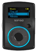 Clip MP3 Player 2GB - Black