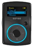 Clip MP3 Player 2GB - Black
