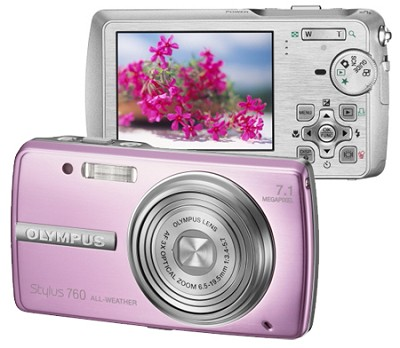 Stylus 760 (Pink) Digital Camera