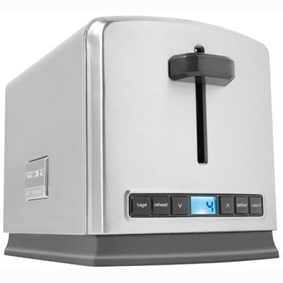 Professional 2-Slice Wide Slots Toaster - FPTT02D7MS - OPEN BOX
