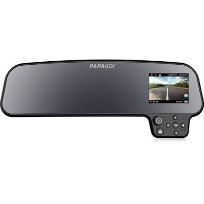 GoSafe 260 Auto Dimming Rear View Mirror w/ HD 1080p Dashcam w/ 2.7` LCD LGS260