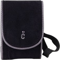 Ultra-Compact Deluxe Carrying Case - Black (Measures 4.5` x 3` x 1.5`)