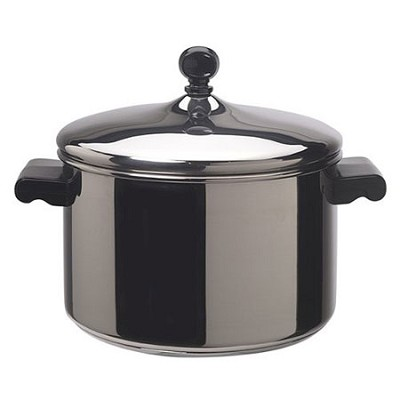 Classic Stainless Steel 4-Quart Covered Saucepot - 50004