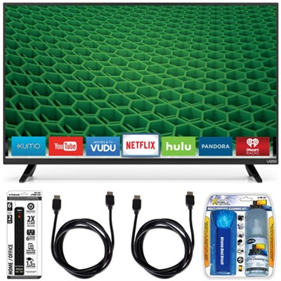 D32-D1 - D-Series 32-Inch Full-Array Full HD LED Smart TV Accessory Bundle