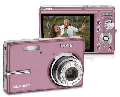 EasyShare M1073 IS 10.2 MP Digital Camera (Pink)