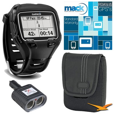 Forerunner 910XT Multisport GPS Training Watch with Heart Rate Monitor Bundle