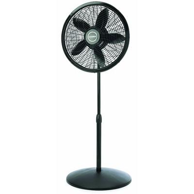 18-inch Adjustable Elegance and Performance Pedestal Fan - Black