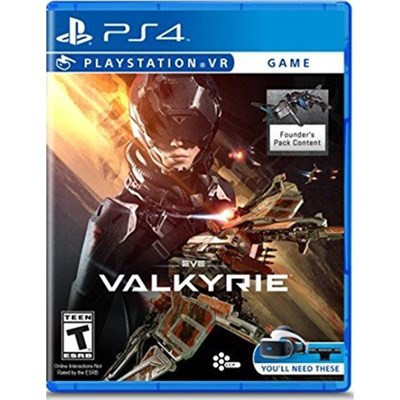 Eve Valkyrie Video Game for PlayStation 4 - 3001937