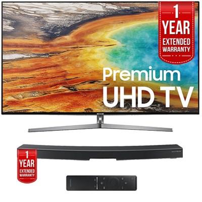 UN55MU9000 55` 4K UHD Smart LED TV + HW-MS6500/ZA Soundbar Extended Warranty