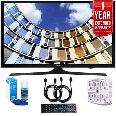 UN43M5300AFXZA Flat 43` LED 1920x1080p Smart TV (2017) w/ Extended Warranty Kit