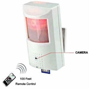 Motion Activated Surveillance DVR Alarm