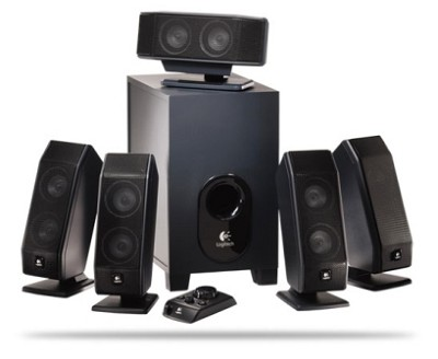 X540 5.1-Channel PC multimedia Home Theater Speaker System