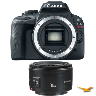EOS Rebel SL1 SLR Digital Camera and EF 50mm F/1.8 II Standard Auto Focus Lens