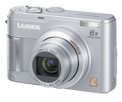 DMC-LZ2 Lumix 5MP Ultra-Compact Digital Camera w/ 6x Optical Zoom - REFURBISHED