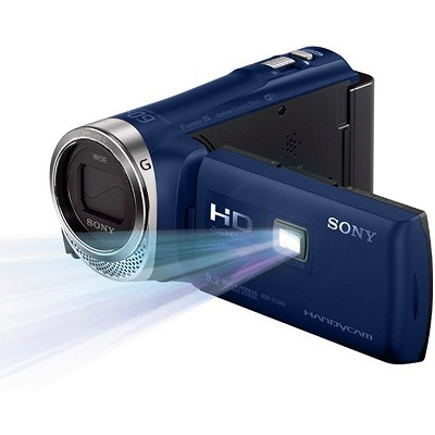 HDR-PJ340/LI Full HD 60p Camcorder with Wifi and built-in Projector (Blue)