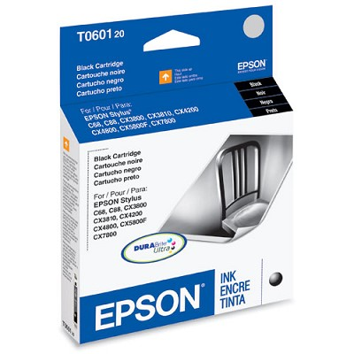 Black Ink Cartridge for Epson Stylus CX Series All-in-ones / Stylus C88