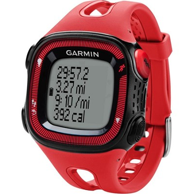 Forerunner 15 Large - Red/Black