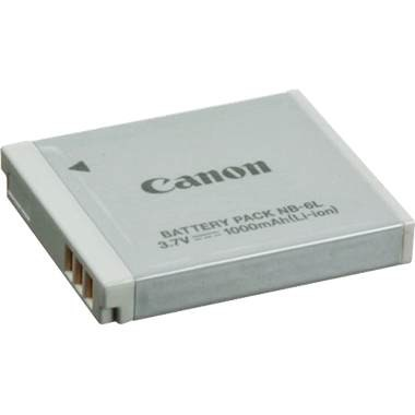 Battery Pack NB-6L for S90, SD980, D10, SD1200 IS, and SD770 IS
