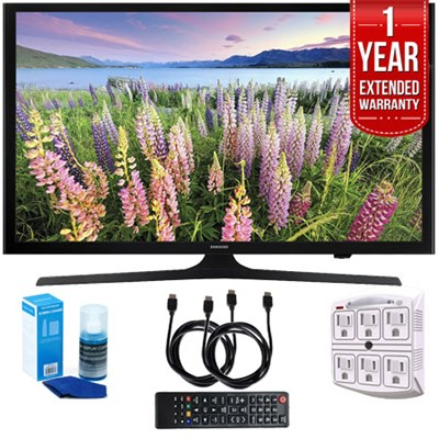 UN50J5000 - 50-Inch HD 1080p LED HDTV (2015) w/ 1 Year Extended Warranty Kit