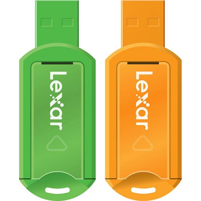 8GB V20 JumpDrive Assorted Colors 2-Pack