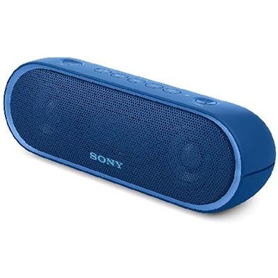 XB20 Portable Wireless Speaker with Bluetooth, Blue (2017 model) - OPEN BOX