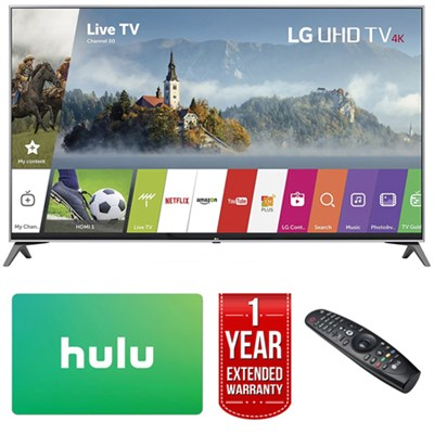 60` Super UHD 4K HDR Smart LED TV (2017 Model) w/ Hulu Card + Extended Warranty