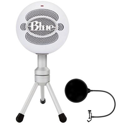 Snowball iCE Versatile USB Microphone w/ Pop Shield Wind Screen