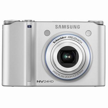 NV24HD 10MP 2.5` LCD Digital Camera (Silver) - Open Box