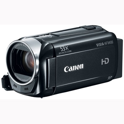 VIXIA HF R400 HD 53x Image Stabilized Optical Zoom Camcorder w/ 3` Touch LCD