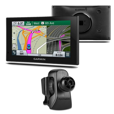 nuvi 2639LMT Advanced Series 6` GPS Navigation w Lifetime Maps Vent Mount Bundle