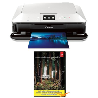 PIXMA MG7120 Wireless Inkjet Photo All-In-One Printer - White w/ Photoshop