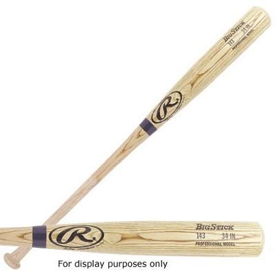 143B - PRO MODEL ASH WOOD BASEBALL BAT 32`