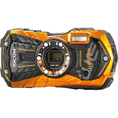 WG-30W Digital Camera with 2.7-Inch LCD - Flame Orange - OPEN BOX