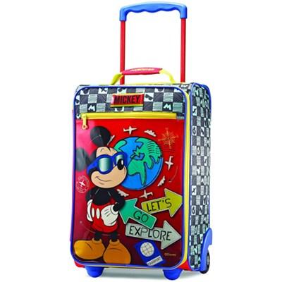 18` Upright Kids Disney Themed Softside Suitcase - Luggage (Mickey) 65774-4450