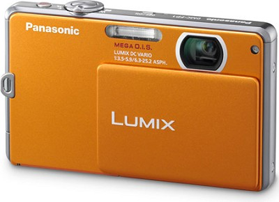 DMC-FP1D LUMIX 12.1 MP Digital Camera (Orange) - OPEN BOX