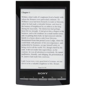 PRS-T1 6` Digital E-Ink Pearl eReader with Wi-Fi (Black) - OPEN BOX