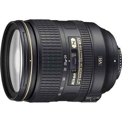 2193 - 24-120mm f/4G ED VR AF-S NIKKOR Lens for Nikon DSLRs Factory Refurbished