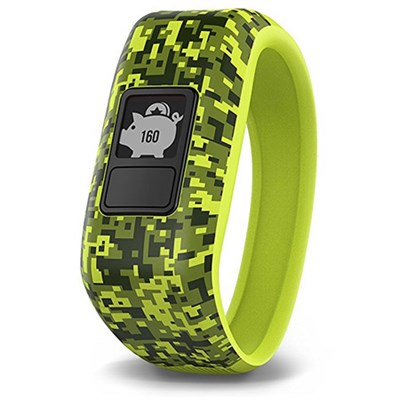 Vivofit Jr. Activity Tracker for Kids, Regular Fit - Digi Camo (010-01634-01)