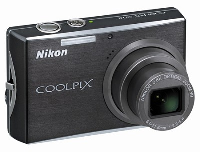 Coolpix S710 Digital Camera (Graphite Black)
