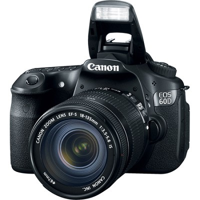 EOS 60D 18 MP SLR Digital Camera w/ 18-135 Lens-Save Up To 500.00 Canon Rebate
