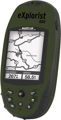 eXplorist 400 Rugged Compact Handheld GPS Receiver