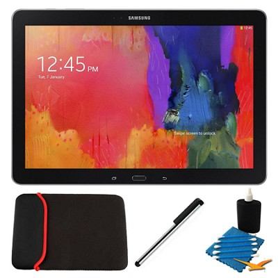 Galaxy Note Pro 12.2` Black 64GB Tablet and Case Bundle