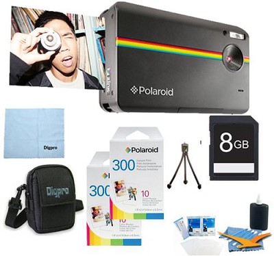 Z2300 10MP 2x3` Instant Digital Camera (Black) ULTIMATE Bundle