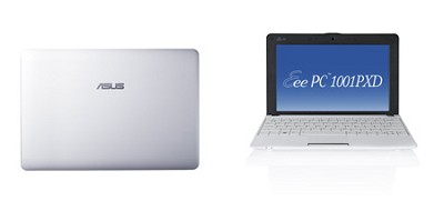 Eee PC 1001PXD-EU17-WT 10.1-Inch Netbook (White)
